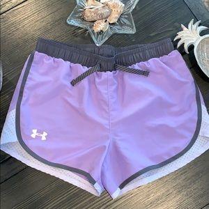 Under Armour Girls lightweight Running Shorts